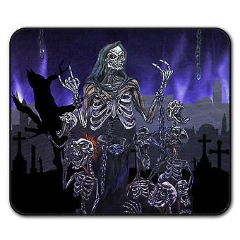 Scream Metal Death  Non-Slip Mouse Mat Pad 24cm x 20cm | Wellcoda