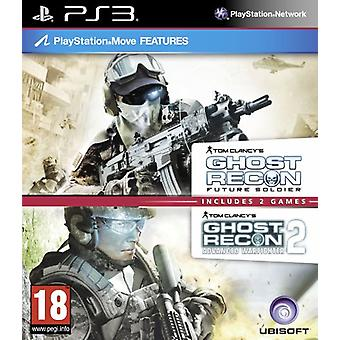 Tom Clancys Ghost Recon Double Pack - Inclut Ghost Recon Future Soldier Advanced Warfighter 2 - Factory Sealed