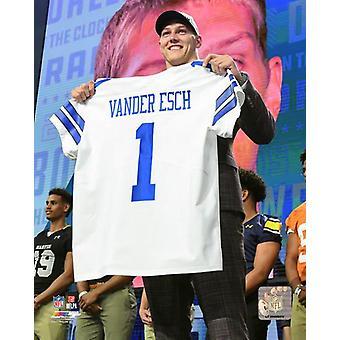 Leighton Vander Esch 2018 NFL Draft #19 Draft Pick Photo Print