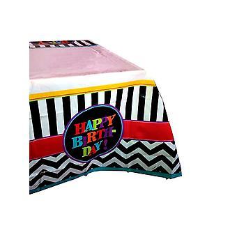 Tillykke med fødselsdagen Chevron Design dug