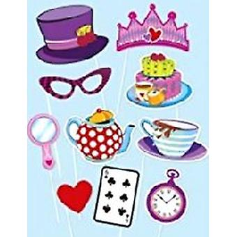 Tea Party Photo Booth Kit
