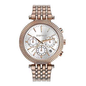 ESPRIT damer se armbåndsur rustfritt stål Rosé ES108742002