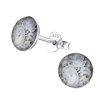 Flower - Zinc + 316L Surgical Grade Stainless Steel Colourful Ear Studs