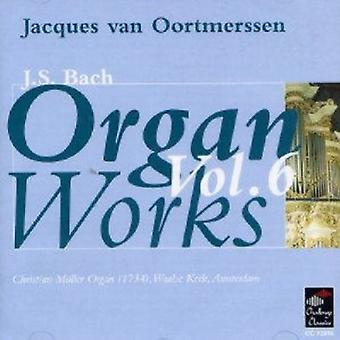 J.S. Bach - J.S. Bach: Organ Works, Vol. 6 [CD] USA import