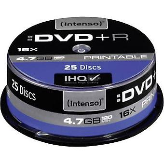 Blank DVD+R 4.7 GB Intenso 4811154 25 pc(s) Spindle Printable