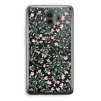 Huawei Mate 10 Transparent Case (Soft) - Dainty flowers