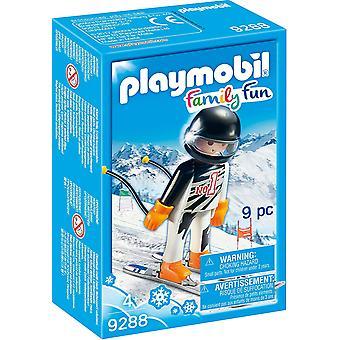 Playmobil 9288 acción diversión familia esquiador figura
