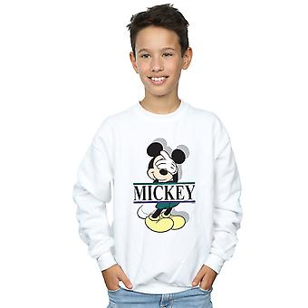 Disney jongens Mickey Mouse brieven Sweatshirt