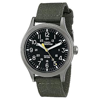Timex T49961 Expedition Scout Watches with Green Nylon Strap