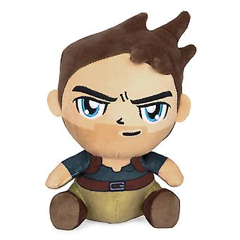 Uncharted 4 Nathan Drake Stubbins plush figure embroidered, 100% polyester.
