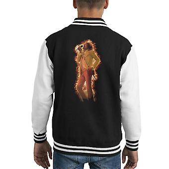 TV Times Rod Stewart And The Faces Flame Effect Kid's Varsity Jacket