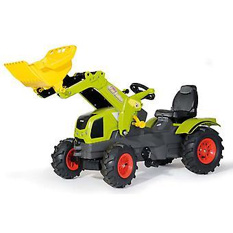 Rolly Toys 611072 RollyFarmtrac Claas Axos 340 Tractor met Lader en Luchtbanden