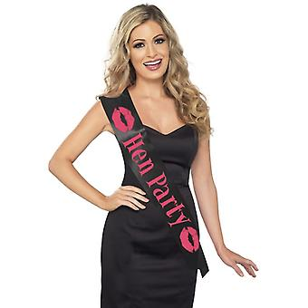 Smiffy's Hen Party Sash
