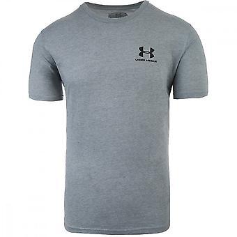 Sob a armadura Sportstyle esquerda peito 1326799036 universal todos os homens do ano t-shirt