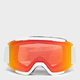New Smith Men's Squad Snowboarding Ski Safety Goggles White