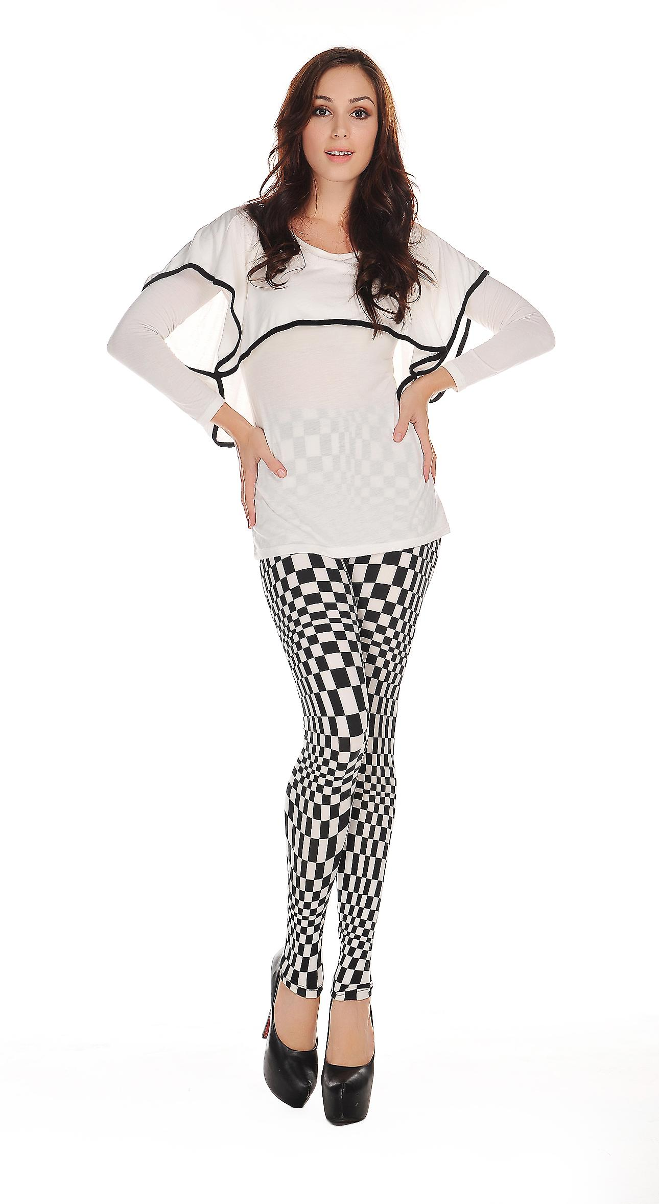 Waooh - Mode - Legging motif carreaux
