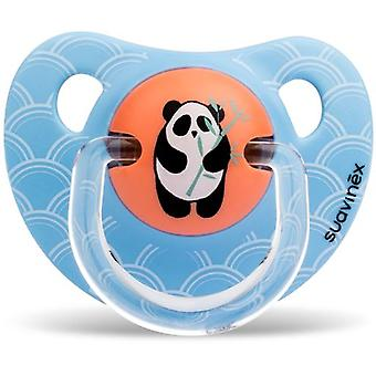 Suavinex Anatomical Pacifier Latex Panda Bamboo 6 to 18 Months
