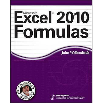 Excel 2010-formler av John Walkenbach - 9780470475362 bok