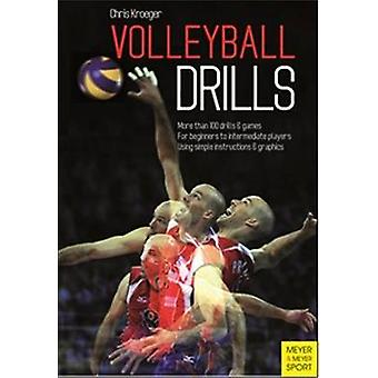 Volleyball Drills by Chris Kroeger - 9781782550242 Book
