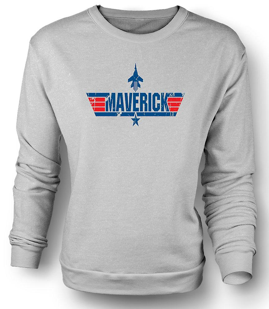 Mens Sweatshirt Top Gun Maverick USAF - Movie
