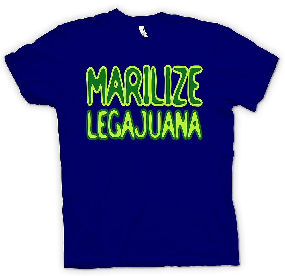 Herr T-shirt-Sanias Legajuana Weed