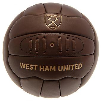 West Ham United FC offisielle Retro Heritage Ball
