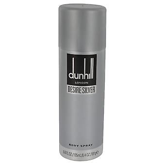 Desire Silver London by Alfred Dunhill Body Spray 6.4 oz / 189 ml (Men)