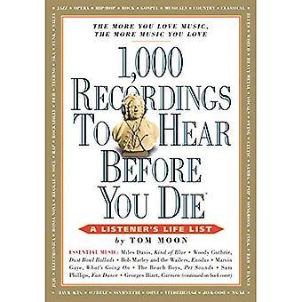 1000 enregistrements écouter avant de mourir (1, 000... avant de mourir livres (livre de poche))