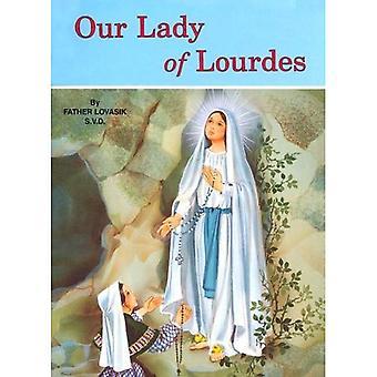 Notre dame de Lourdes: (Pack de 10)