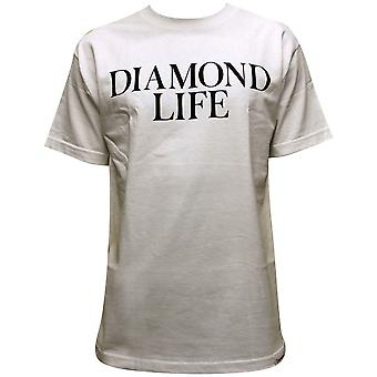Diamond forsyning Co Diamond Life t-skjorte hvit