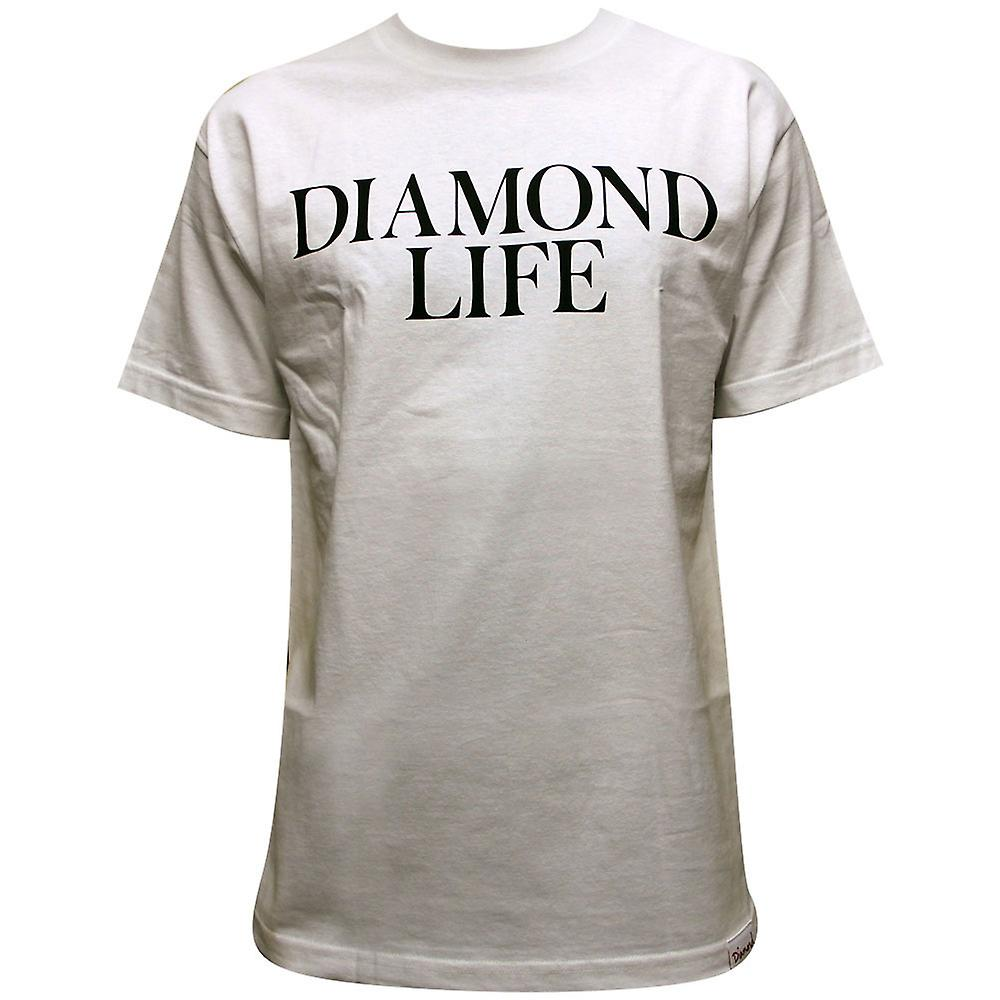 Diamond Supply Co Diamond Life T-shirt White