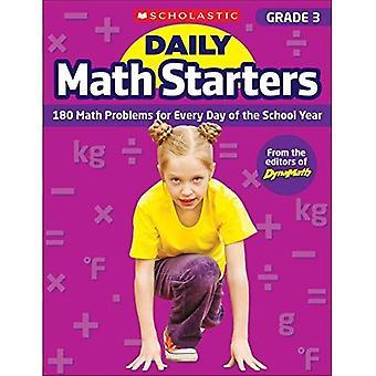 Daglig Math förrätter: Årskurs 3: 180 matematiska problem varje dag av läsåret (daglig Math förrätter)