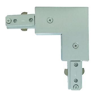 Stik til spot og spor sølv hjørne - projektør 1802SI