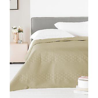 Country Club Zara Satin sengetæppe, guld