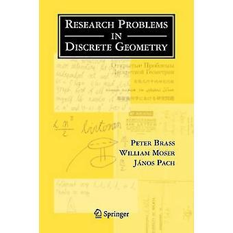 Forskningsproblem i diskret geometri av mässing & Peter