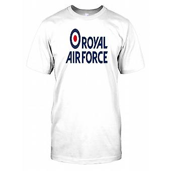British Royal Airforce Logo Mens T Shirt