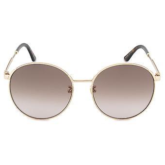 Gucci runde solbriller GG0206SK 003 58
