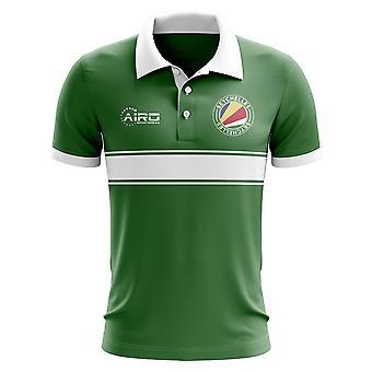 Seychelles Concept Stripe Polo Shirt (Green)