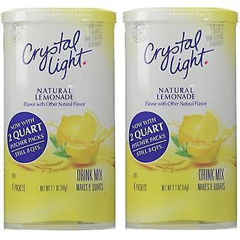 Crystal Light Lemonade Drink Mix Pitcher Packs 2 Pack