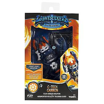 Lightseekers Awakening C-tech Cannon Tech Order Weapon & Trading Card