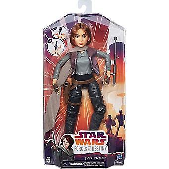 Star Wars styrker af Destiny: Jyn erso, dukke 28 cm
