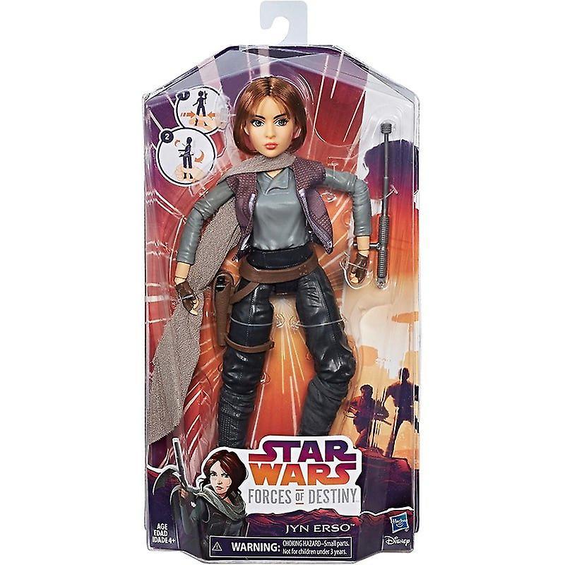 Star Wars Forces of Destiny  Jyn Erso, Docka 28 cm