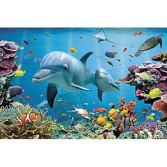 Tropische onderwater Oceaan Maxi Poster 61x91.5cm