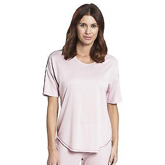 Rosch 1193737-12601 Women's Pure Wild Rose Pink Cotton Pyjama Top