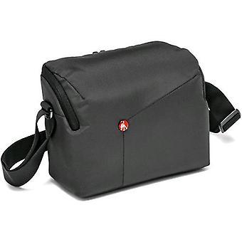 Manfrotto mbnx-sb-iigy bolso de hombro para cámaras slr en nylon / tela gris