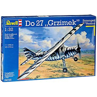 Revell 64745 Model Kit Do 27 Grzimek Sereng
