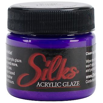 Silks Acrylic Glaze 1Oz Jar Snapdragon Silks 30570