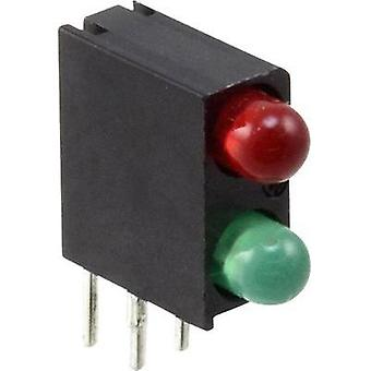 LED component Green, Red (L x W x H) 13.34 x 11 x 4.32 mm Dialight