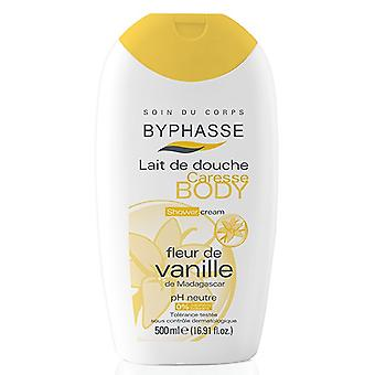 Byphasse Flower Shower Cream Vanilla 500 Ml