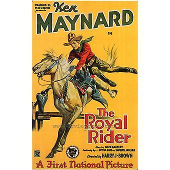 Royal Rider film plakat Print (27 x 40)